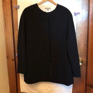 Anne Klein Navy Jacket With White Lining
